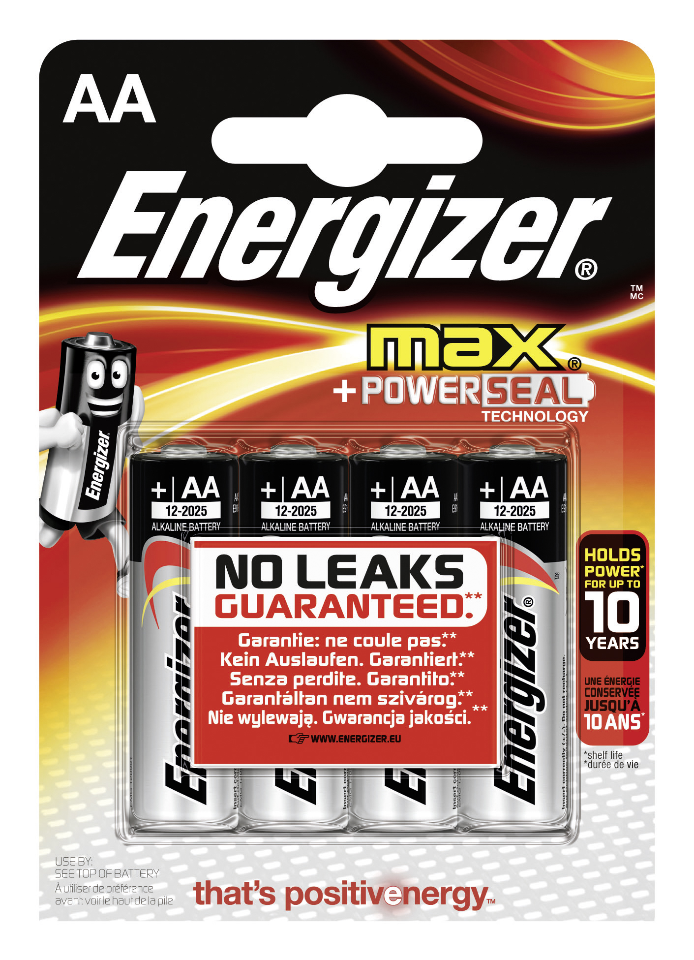 Energizer Max Powerseal