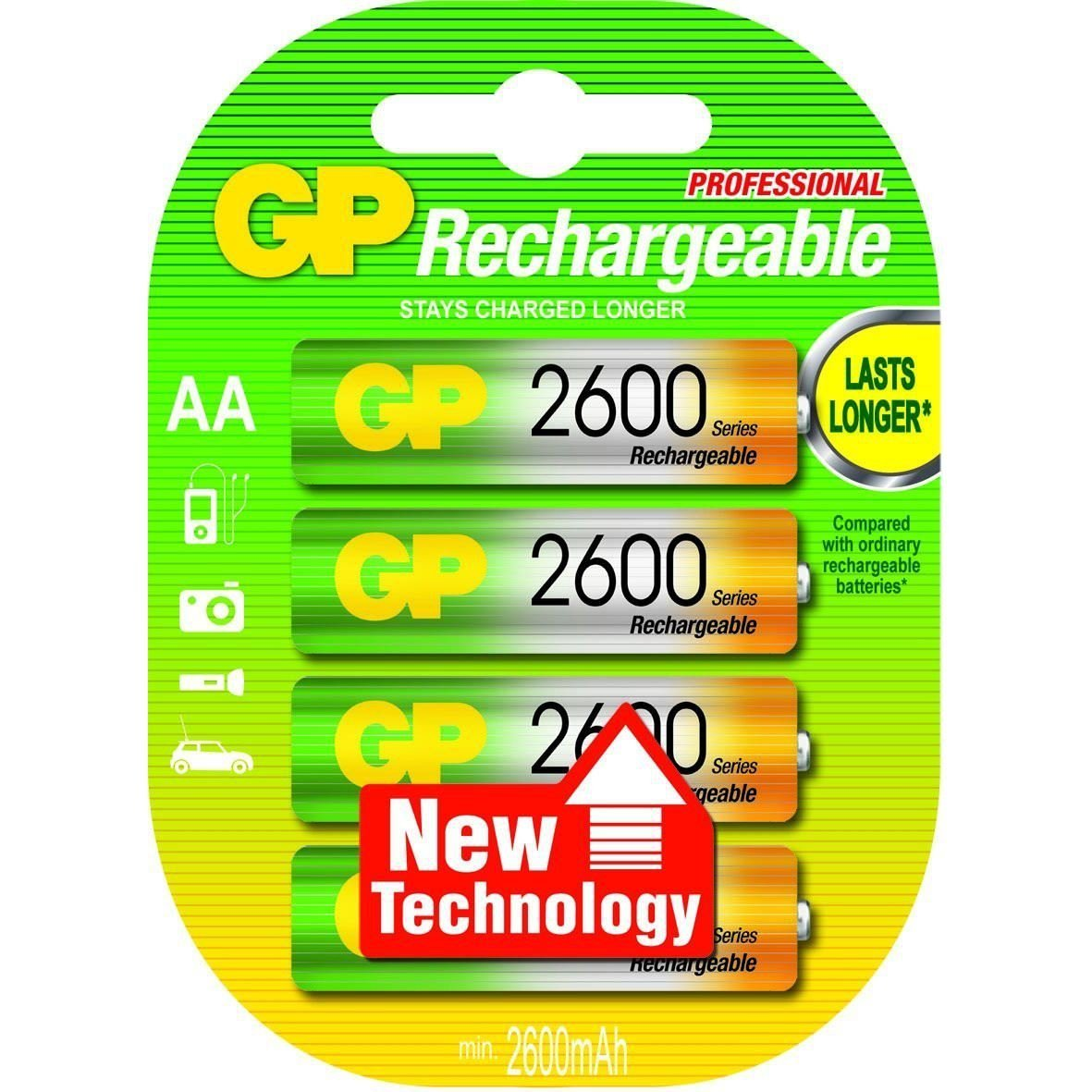 GP AA 2600 Rechargeable