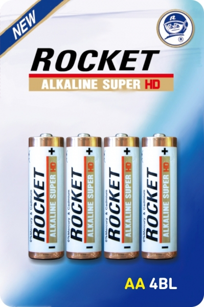 Rocket HD Alkaline 4706 4703 AA AAA