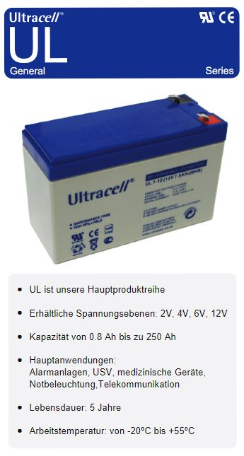 Ultracell Ul Series